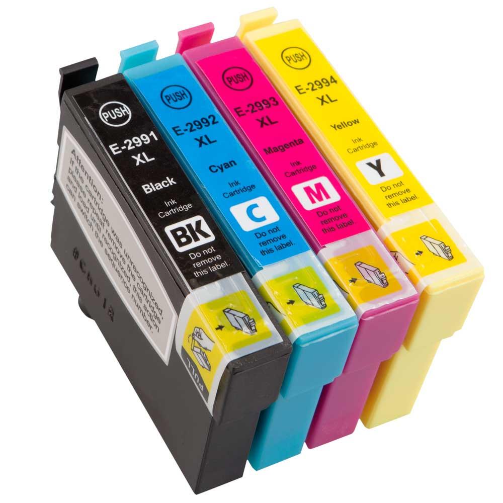 non oem t2996 29xl ink cartridge multipack for epson expression xp 235 xp 332 ebay. Black Bedroom Furniture Sets. Home Design Ideas