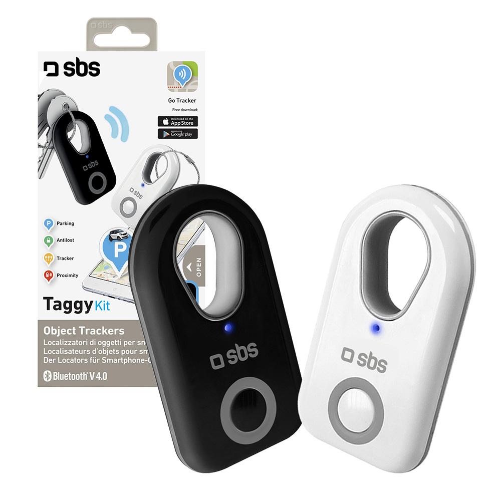 2x Sbs Smart Tag Bluetooth Tracker Bag Wallet Key Finder
