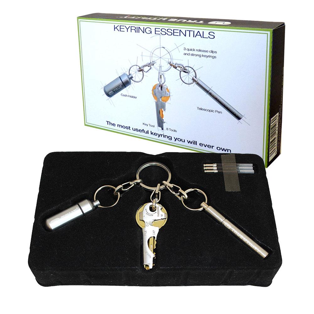 True Utility Keyring Essentials - Triple Tool Pack lowest price